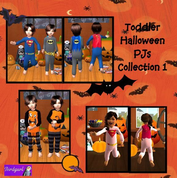 Birdgurl's Sims 2 Creations - Page 2 ToddlerHalloweenPJsCollection1-banner1