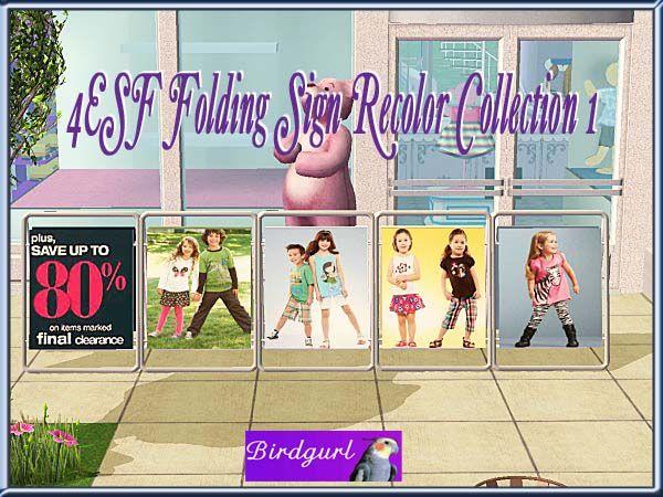 Birdgurl's Sims 2 Creations - Page 4 JumpingBeansFoldingSignRecolorsCollectionbanner