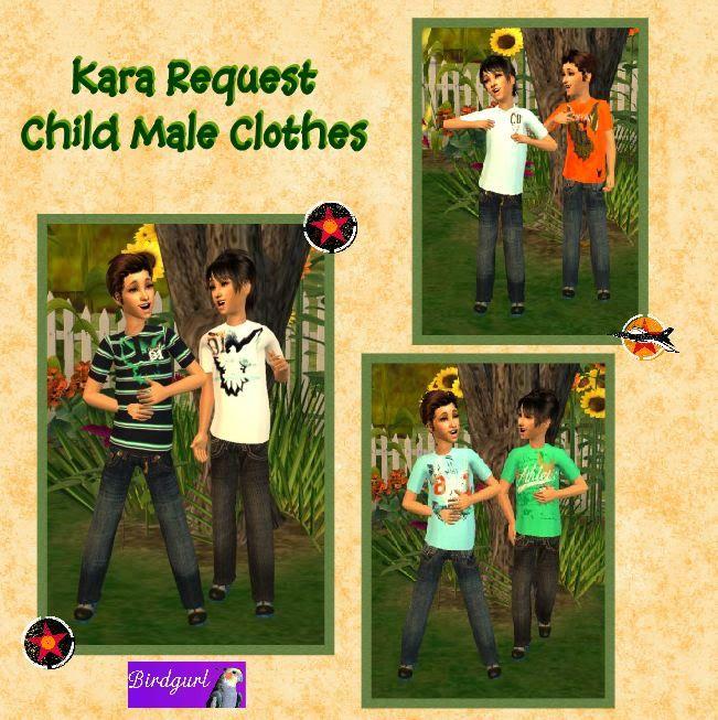 Birdgurl's Sims 2 Creations - Page 3 KaraRequest-ChildMaleOutfitsbanner1