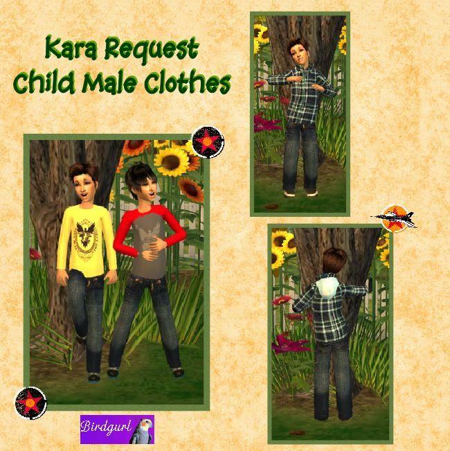 Birdgurl's Sims 2 Creations - Page 3 KaraRequest-ChildMaleOutfitsbanner2