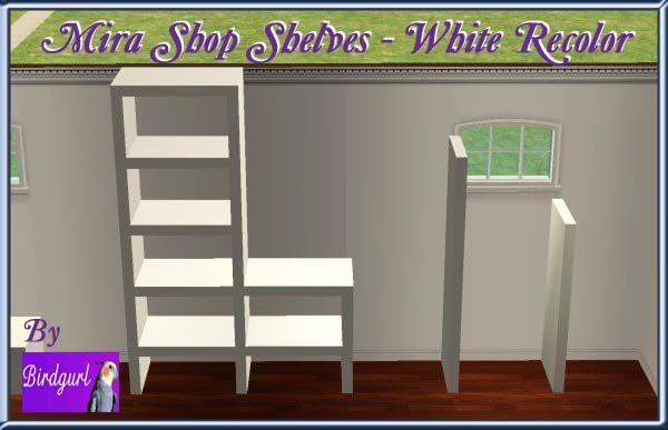 Birdgurl's Sims 2 Creations - Page 4 MiraShopShelves-Whiterecolorbanner
