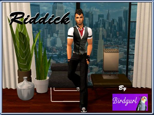 Birdgurl's Sims 2 Creations - Page 5 Riddickbanner