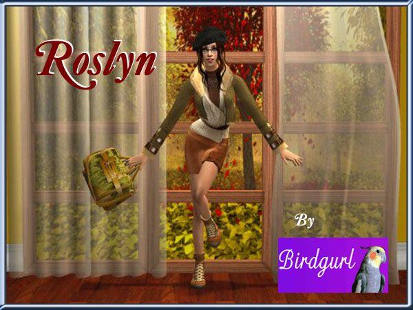 Birdgurl's Sims 2 Creations - Page 5 Roslynbanner