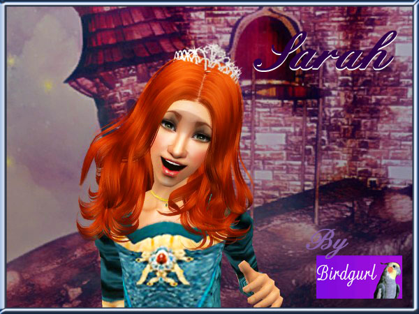 Birdgurl's Sims 2 Creations - Page 5 Sarahbanner