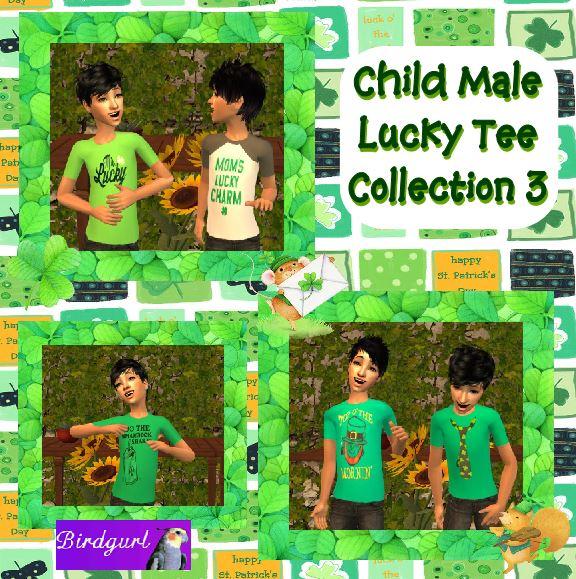 Birdgurl's Sims 2 Creations - Page 7 ChildMaleLuckyTeeCollection3banner_zps8d2b34d4