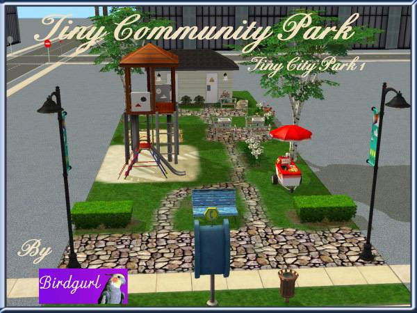 Birdgurl's Sims 2 Creations - Page 5 TinyCommunityParkbanner