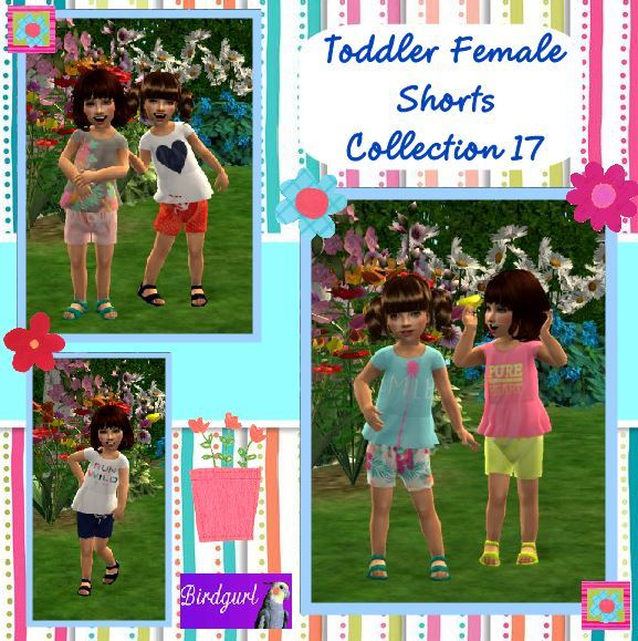 Birdgurl's Sims 2 Creations - Page 9 Toddler%20Female%20Shorts%20Collection%2017%20banner_zps9yncvx3s