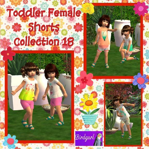 Birdgurl's Sims 2 Creations - Page 9 Toddler%20Female%20Shorts%20Collection%2018%20banner_zpsmis66cxk