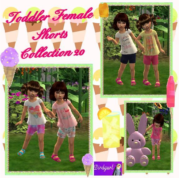 Birdgurl's Sims 2 Creations - Page 9 Toddler%20Female%20Shorts%20Collection%2020%20banner_zpsypptcoaz