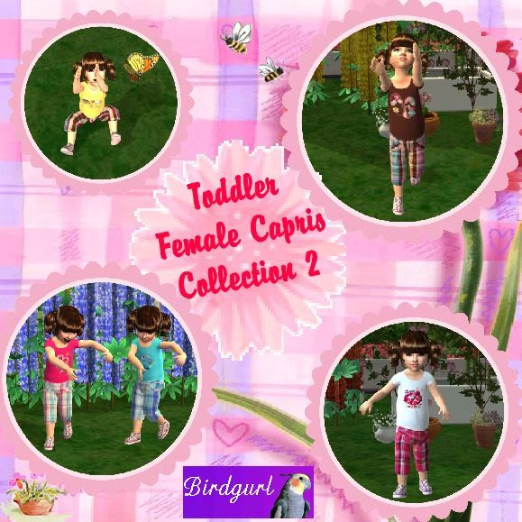 Birdgurl's Sims 2 Creations ToddlerFemaleCaprisCollection2banner