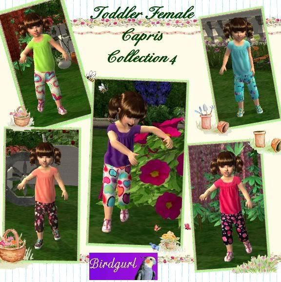 Birdgurl's Sims 2 Creations ToddlerFemaleCaprisCollection4banner