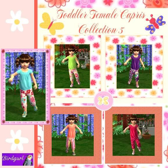 Birdgurl's Sims 2 Creations ToddlerFemaleCaprisCollection5banner