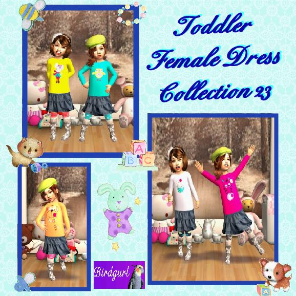 Birdgurl's Sims 2 Creations - Page 7 ToddlerFemaleDressCollection23banner_zps36673930