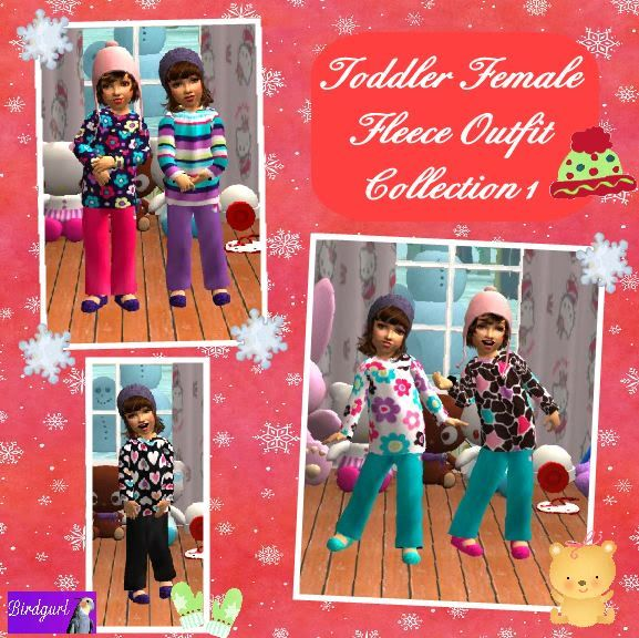 Birdgurl's Sims 2 Creations - Page 3 ToddlerFemaleFleeceOutfitCollection1banner