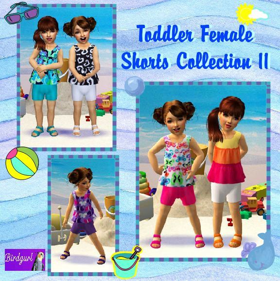 Birdgurl's Sims 2 Creations - Page 5 ToddlerFemaleShortsCollection11banner