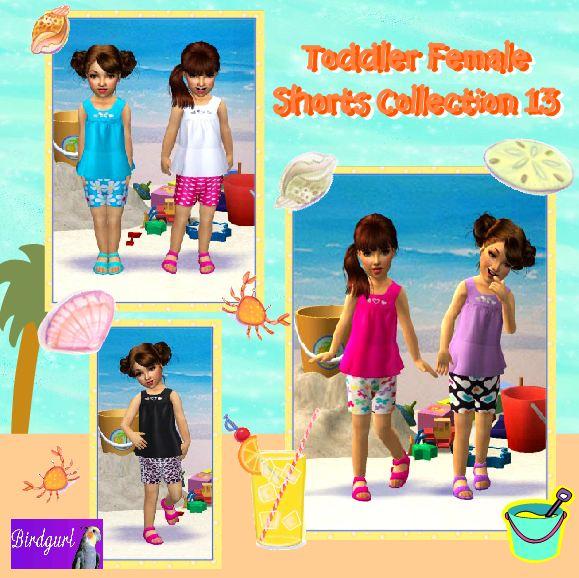 Birdgurl's Sims 2 Creations - Page 5 ToddlerFemaleShortsCollection13banner