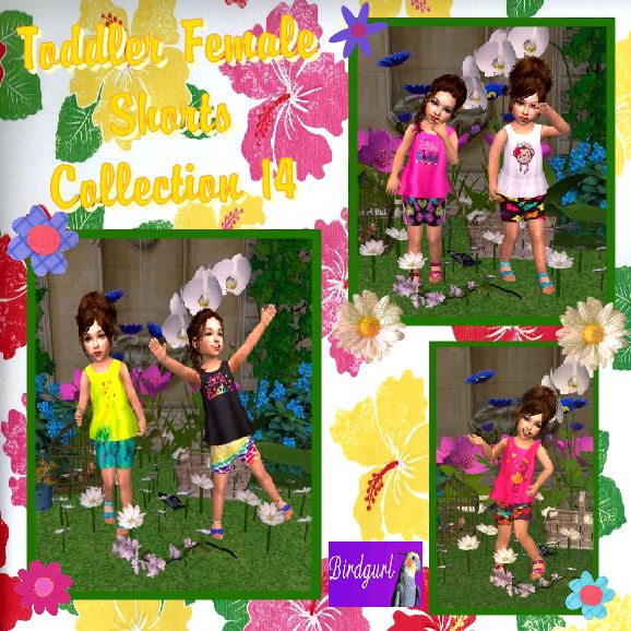 Birdgurl's Sims 2 Creations - Page 8 ToddlerFemaleShortsCollection14banner_zps2acb8d8e