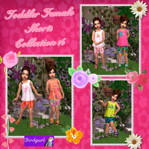 Birdgurl's Sims 2 Creations - Page 8 ToddlerFemaleShortsCollection16banner_zps0a17a82b
