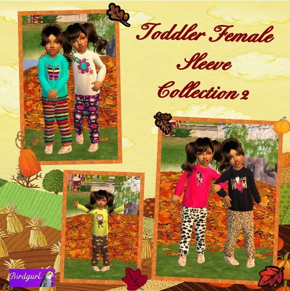 Birdgurl's Sims 2 Creations - Page 2 ToddlerFemaleSleeveCollection2banner