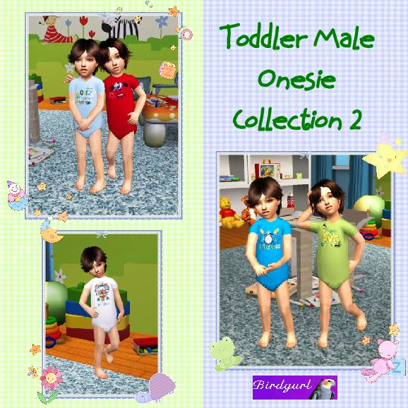 Birdgurl's Sims 2 Creations - Page 2 ToddlerMaleOnesieCollection2banner