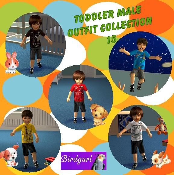 Birdgurl's Sims 2 Creations ToddlerMaleOutfitCollection15banner