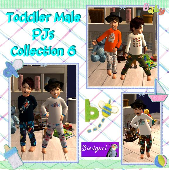 Birdgurl's Sims 2 Creations - Page 7 ToddlerMalePJsCollection6banner_zps96af5cdb
