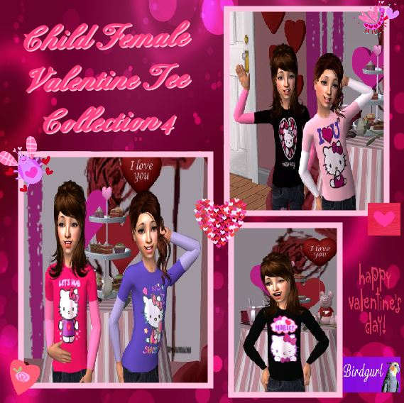 Birdgurl's Sims 2 Creations - Page 7 ChildFemaleValentineTeeCollection4banner_zps554c0b4b