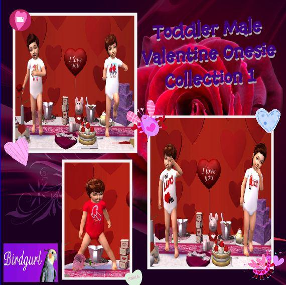Birdgurl's Sims 2 Creations - Page 7 ToddlerMaleValentineOnesieCollection1banner_zpsfad7f734