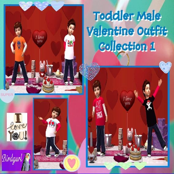 Birdgurl's Sims 2 Creations - Page 7 ToddlerMaleValentineOutfitCollection1banner_zps1ce91e20
