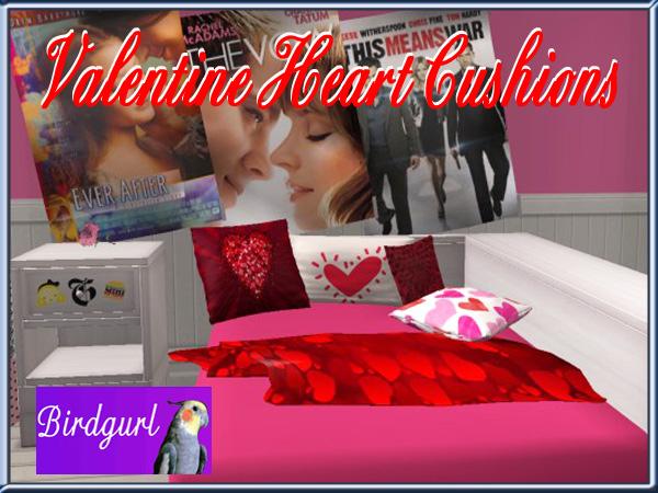 Birdgurl's Sims 2 Creations - Page 7 ValentineHeartCushionsbanner_zps0b927584