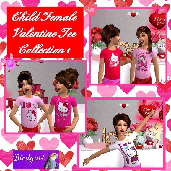 Birdgurl's Sims 2 Creations - Page 3 ChildFemaleValentinesTeeCollection1banner