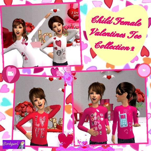 Birdgurl's Sims 2 Creations - Page 3 ChildFemaleValentinesTeeCollection2banner