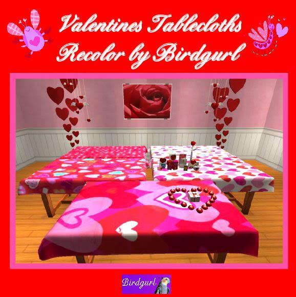 Birdgurl's Sims 2 Creations - Page 3 ValentinesTableclothsbanner