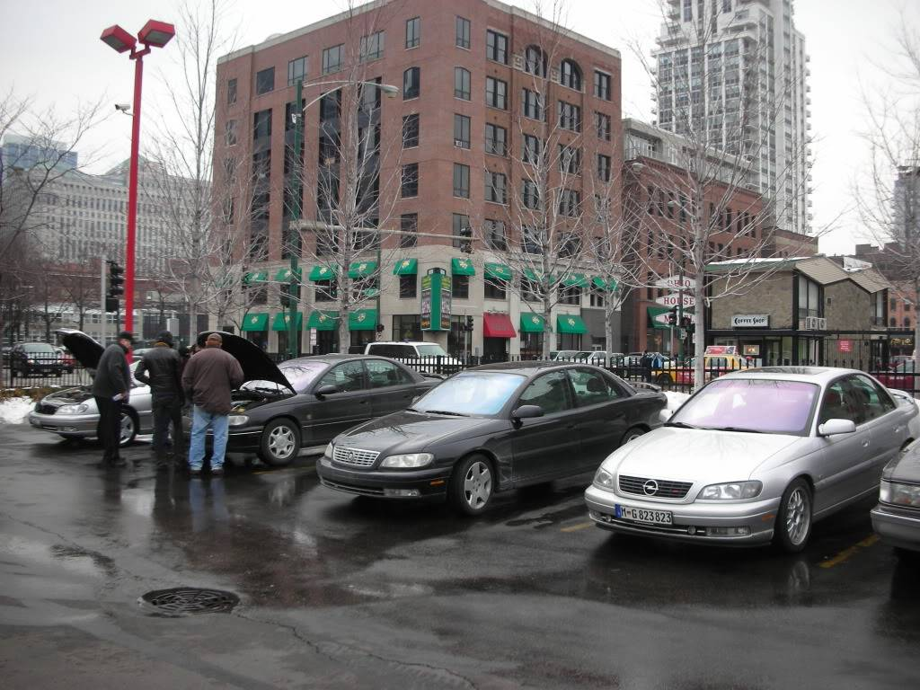 Cadillac Catera Owners MEET Chicago FEB 20th PICTURES DSCN3422