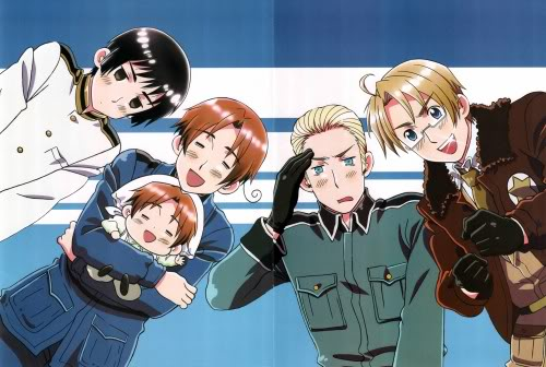 Hetalia Axis power 403345