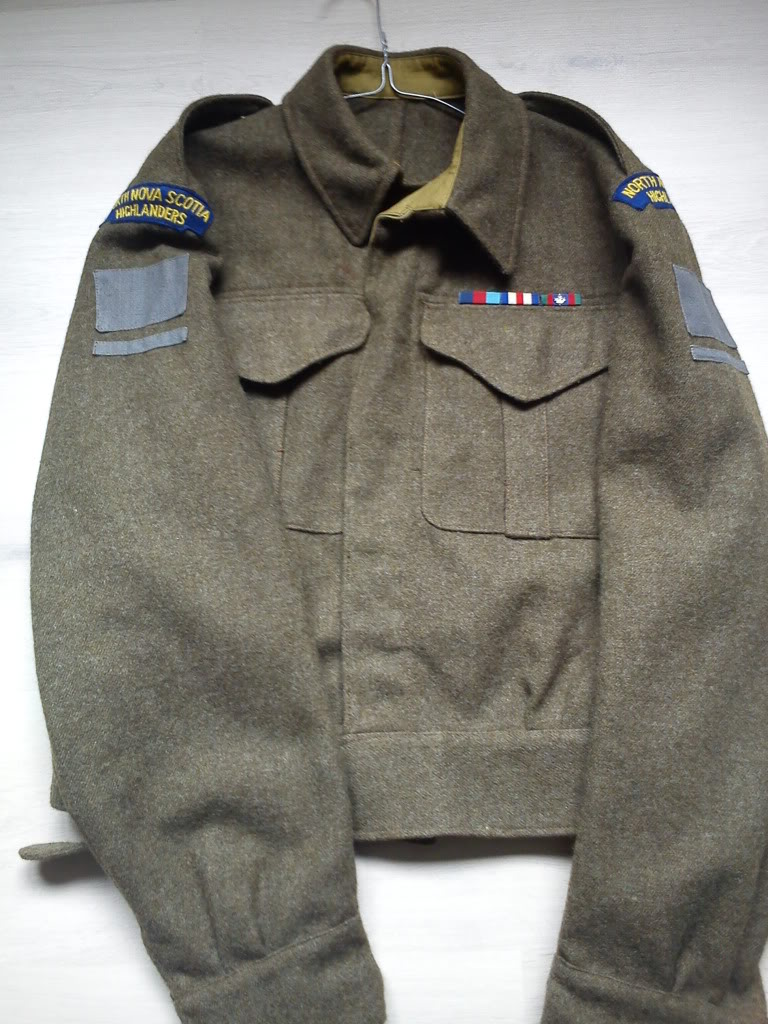 collection canadian battledress DSC00147