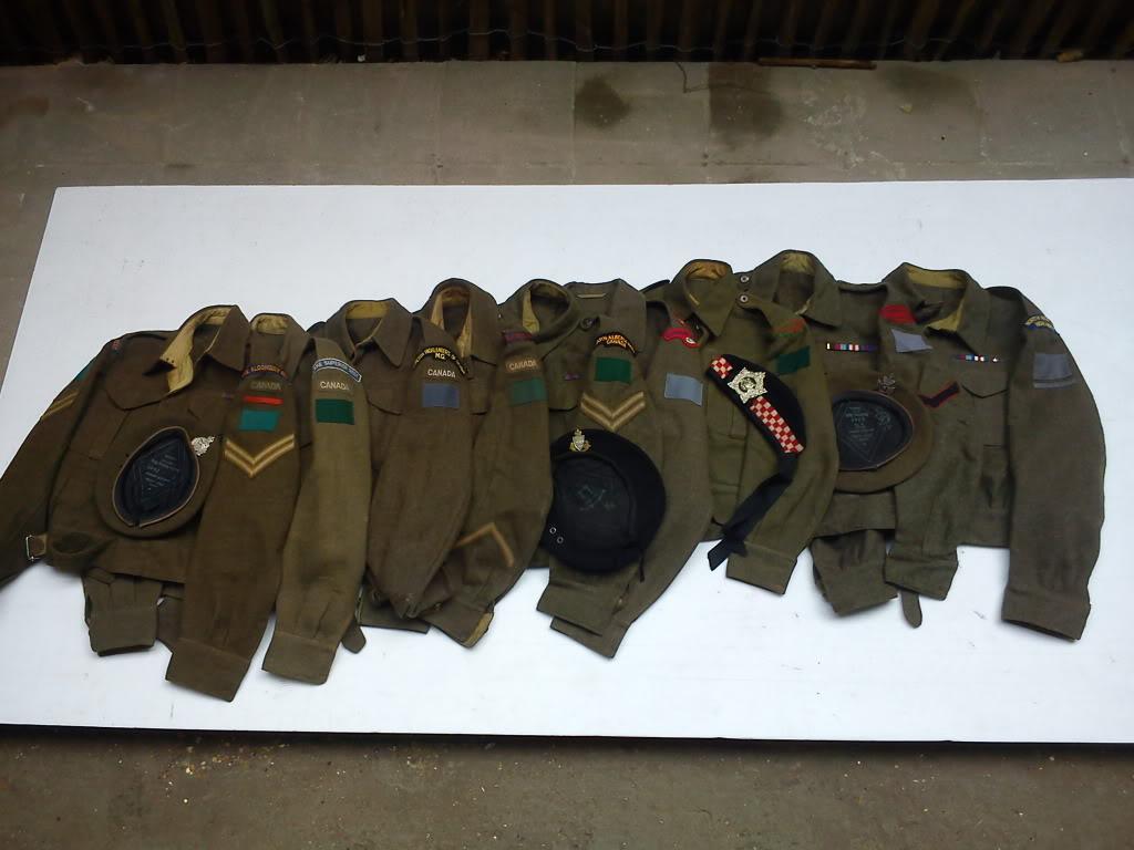 collection canadian battledress DSC00259