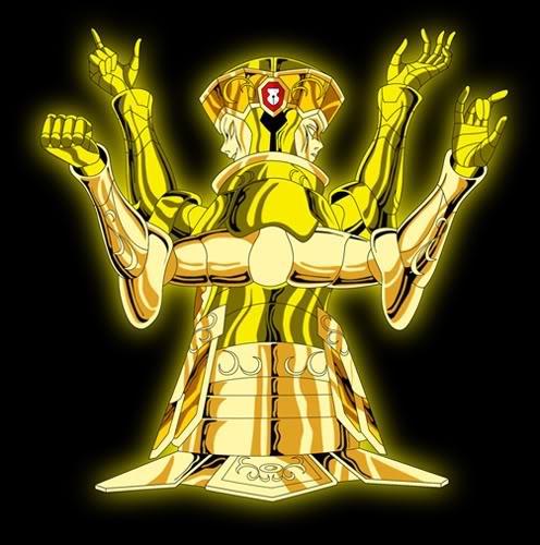 quien de los doce caballeros dorados es el mas poderoso Armaduradegeminis
