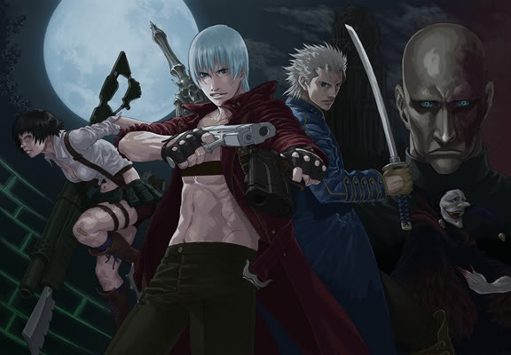 Devil May Cry Manga  Stance