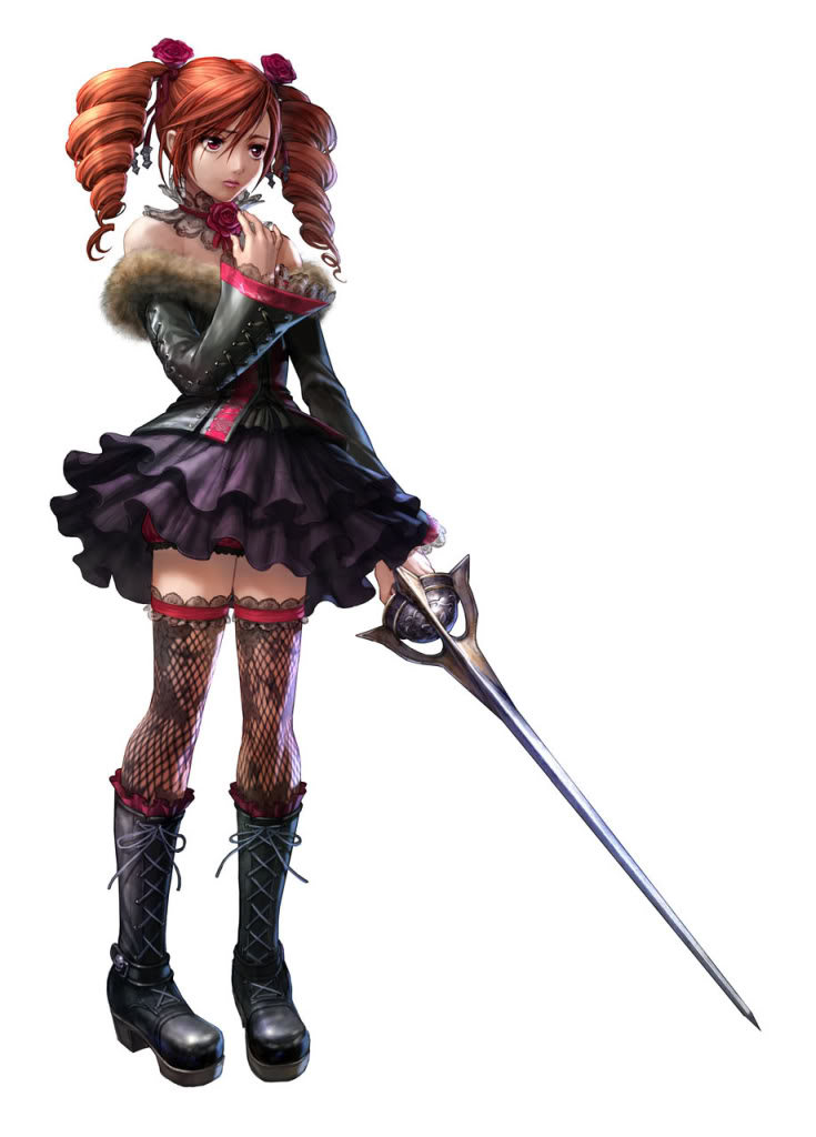 Soul Calibur: A Tale of Souls and Swords Amy