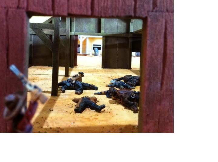 Bloody Barn's massacre Massacre