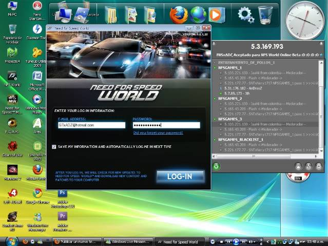 Me aceptaron en Need for Speed World Online Beta :D Dibujo