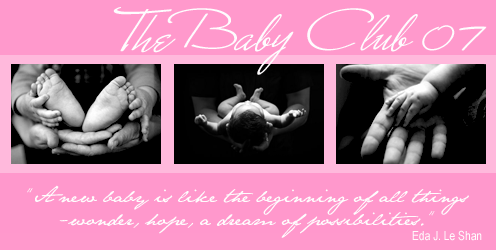 THE BABY CLUB 07 - For Mothers of Babies born 07 I_logo