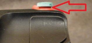 green start button Startkillo-ring