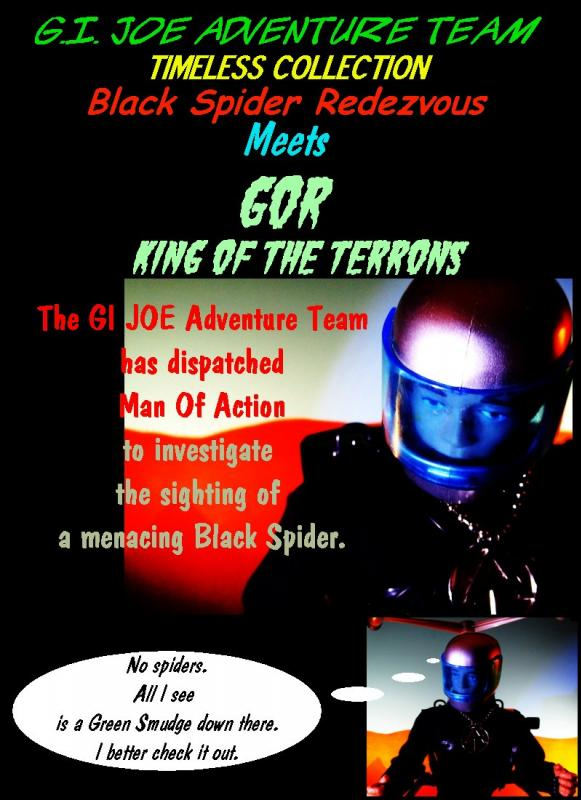 GI JOE Adventure Team Timeless Collection Black Spider Rendezvous Meets Gor King Of The Terrons  Img_07851111