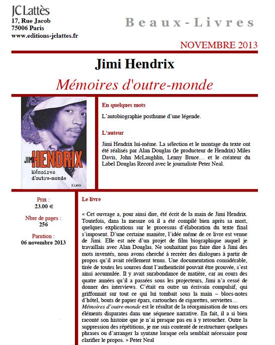 Jimi Hendrix - Mémoires d'outre-monde (novembre 2013) Meacutemoiresdoutre-monde_zps81a28d25