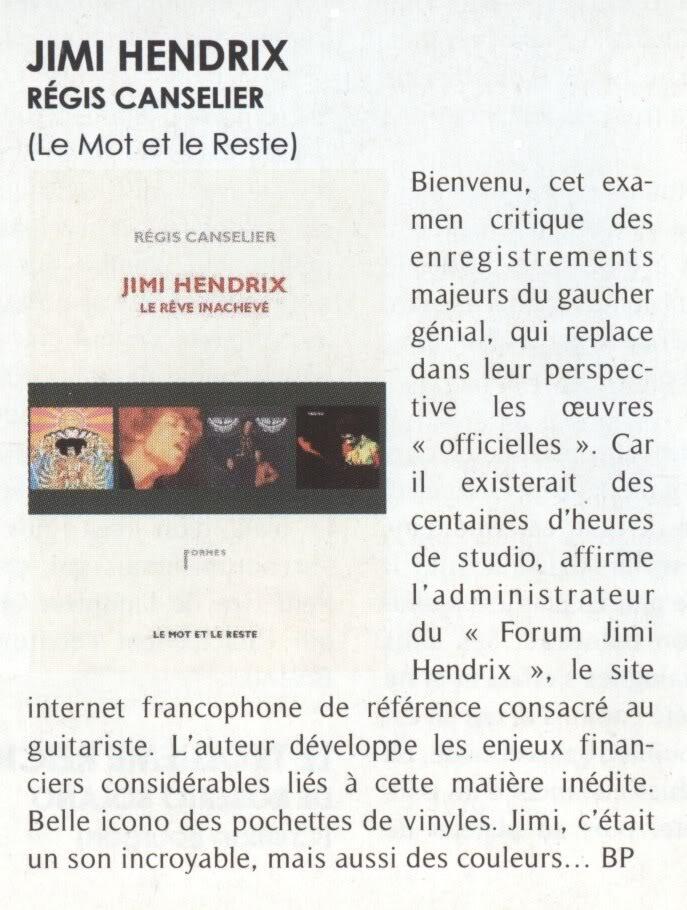 Jimi Hendrix - Le rêve inachevé (Régis Canselier) [2010] OpenMag-1