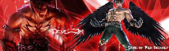 wwe smackdown vs raw 2009 DevilJin_DevilmanSignature_done_Red