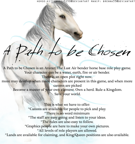 A Path to be Chosen Apathtobechosenad
