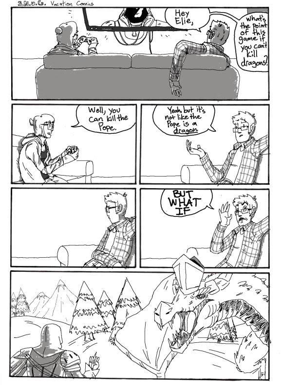 SNUG Comics SNUG_Comic_Skyrim